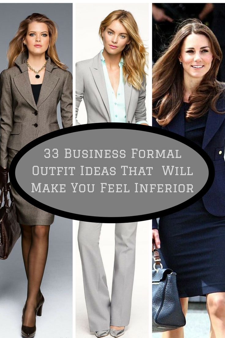 33 Business Formal Outfit Ideas
